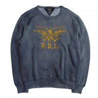 <img class='new_mark_img1' src='//img.shop-pro.jp/img/new/icons15.gif' style='border:none;display:inline;margin:0px;padding:0px;width:auto;' />RRL FLEECE GRAPHIC SWEATER SHIRT BLUE