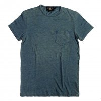 RRL Slub pocket tee washed indigo