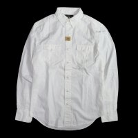 <img class='new_mark_img1' src='//img.shop-pro.jp/img/new/icons15.gif' style='border:none;display:inline;margin:0px;padding:0px;width:auto;' />RRL WESTERN SHIRT WHITE