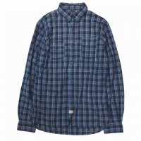 RRL INDIGO CHECKED SHIRTS