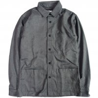 <img class='new_mark_img1' src='https://img.shop-pro.jp/img/new/icons50.gif' style='border:none;display:inline;margin:0px;padding:0px;width:auto;' />Corridor Wool Stripe Overshirt