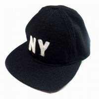 <img class='new_mark_img1' src='//img.shop-pro.jp/img/new/icons15.gif' style='border:none;display:inline;margin:0px;padding:0px;width:auto;' />KNICKER BOCKER MFG New York Ball Cap BLACK