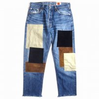 <img class='new_mark_img1' src='//img.shop-pro.jp/img/new/icons15.gif' style='border:none;display:inline;margin:0px;padding:0px;width:auto;' />Nasngwam.BARRACKS PANTS(PATCHWORK)SUEDE �