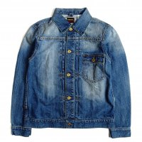 <img class='new_mark_img1' src='//img.shop-pro.jp/img/new/icons15.gif' style='border:none;display:inline;margin:0px;padding:0px;width:auto;' />FIVE BROTHER DENIM SHORT JACKET