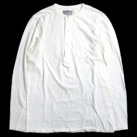 <img class='new_mark_img1' src='//img.shop-pro.jp/img/new/icons15.gif' style='border:none;display:inline;margin:0px;padding:0px;width:auto;' />KNICKER BOCKER MFG L/S Henley Tube Tee WHITE