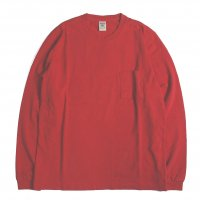 <img class='new_mark_img1' src='https://img.shop-pro.jp/img/new/icons50.gif' style='border:none;display:inline;margin:0px;padding:0px;width:auto;' />Jackman Pocket Long Sleeve Tee RED