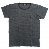 <img class='new_mark_img1' src='//img.shop-pro.jp/img/new/icons15.gif' style='border:none;display:inline;margin:0px;padding:0px;width:auto;' />RRL INDIGO STRIPE POCKET T-SHIRTS