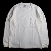 <img class='new_mark_img1' src='https://img.shop-pro.jp/img/new/icons50.gif' style='border:none;display:inline;margin:0px;padding:0px;width:auto;' />Jackman Pocket Long Sleeve Tee WHITE
