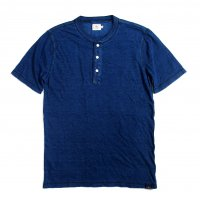 <img class='new_mark_img1' src='//img.shop-pro.jp/img/new/icons50.gif' style='border:none;display:inline;margin:0px;padding:0px;width:auto;' />FAHERTY BRAND S/S HENLEY DARK WASH INDIGO