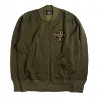 <img class='new_mark_img1' src='//img.shop-pro.jp/img/new/icons15.gif' style='border:none;display:inline;margin:0px;padding:0px;width:auto;' />RRL Fleece Full-Zip JACKET OLIVE