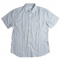 <img class='new_mark_img1' src='//img.shop-pro.jp/img/new/icons15.gif' style='border:none;display:inline;margin:0px;padding:0px;width:auto;' />Corridor Ticking Stripe Shirts Navy