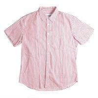 <img class='new_mark_img1' src='https://img.shop-pro.jp/img/new/icons15.gif' style='border:none;display:inline;margin:0px;padding:0px;width:auto;' />Corridor Ticking Stripe Shirts Red