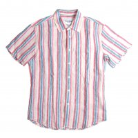 <img class='new_mark_img1' src='//img.shop-pro.jp/img/new/icons15.gif' style='border:none;display:inline;margin:0px;padding:0px;width:auto;' />Corridor Beach Strupe Linen Shirts