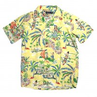 <img class='new_mark_img1' src='//img.shop-pro.jp/img/new/icons15.gif' style='border:none;display:inline;margin:0px;padding:0px;width:auto;' />POLO RALPH LAUREN Hawaiian Camp Shirt YELLOW