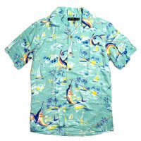 <img class='new_mark_img1' src='//img.shop-pro.jp/img/new/icons15.gif' style='border:none;display:inline;margin:0px;padding:0px;width:auto;' />POLO RALPH LAUREN ALOHA SHIRTS BLUE