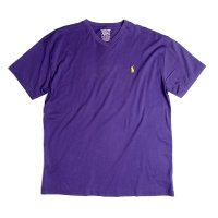 <img class='new_mark_img1' src='https://img.shop-pro.jp/img/new/icons50.gif' style='border:none;display:inline;margin:0px;padding:0px;width:auto;' />POLO by Ralph Lauren V NECK S/STEE PURPLE