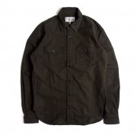 <img class='new_mark_img1' src='https://img.shop-pro.jp/img/new/icons15.gif' style='border:none;display:inline;margin:0px;padding:0px;width:auto;' />KNICKER BOCKER MFG FIELD SHIRT OLIVE