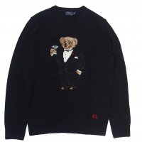 <img class='new_mark_img1' src='//img.shop-pro.jp/img/new/icons15.gif' style='border:none;display:inline;margin:0px;padding:0px;width:auto;' />POLO by RALPH LAUREN POLO BEAR SEWEATER BLACK