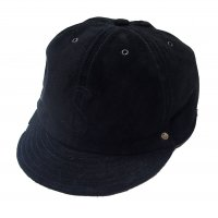 <img class='new_mark_img1' src='https://img.shop-pro.jp/img/new/icons50.gif' style='border:none;display:inline;margin:0px;padding:0px;width:auto;' />VOO SUEDE CAP by DECHO BLACK