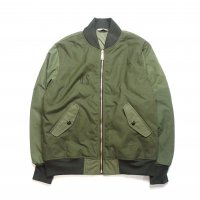 <img class='new_mark_img1' src='//img.shop-pro.jp/img/new/icons50.gif' style='border:none;display:inline;margin:0px;padding:0px;width:auto;' />FIVE BROTHER MILITARY REMEKE MA-1 JACKET OLIVE