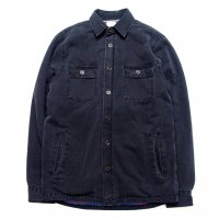 <img class='new_mark_img1' src='https://img.shop-pro.jp/img/new/icons50.gif' style='border:none;display:inline;margin:0px;padding:0px;width:auto;' />FAHRTY BRAND Blanket Lined CPO Jacket DYED BLACK