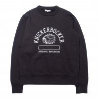 <img class='new_mark_img1' src='//img.shop-pro.jp/img/new/icons15.gif' style='border:none;display:inline;margin:0px;padding:0px;width:auto;' />KNICKER BOCKER MFG   Phys Ed Crew neck Fleece COAL