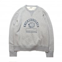 <img class='new_mark_img1' src='//img.shop-pro.jp/img/new/icons15.gif' style='border:none;display:inline;margin:0px;padding:0px;width:auto;' />KNICKER BOCKER MFG  Phys Ed Crew neck Fleece GRAY