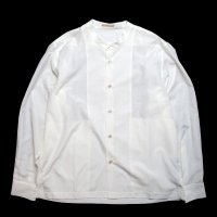 <img class='new_mark_img1' src='//img.shop-pro.jp/img/new/icons15.gif' style='border:none;display:inline;margin:0px;padding:0px;width:auto;' />LAMOND  BAND COLLAR SHIRTS WHITE
