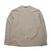 <img class='new_mark_img1' src='//img.shop-pro.jp/img/new/icons15.gif' style='border:none;display:inline;margin:0px;padding:0px;width:auto;' />LAMOND  BAND COLLAR SHIRTS GRAY BEIGE