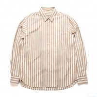 <img class='new_mark_img1' src='//img.shop-pro.jp/img/new/icons50.gif' style='border:none;display:inline;margin:0px;padding:0px;width:auto;' />LAMOND  STRIPE SHIRTS BEIGE
