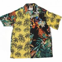 <img class='new_mark_img1' src='//img.shop-pro.jp/img/new/icons15.gif' style='border:none;display:inline;margin:0px;padding:0px;width:auto;' />Nasngwam.KAILUA S/S SHIRT BLACK×YELLOW