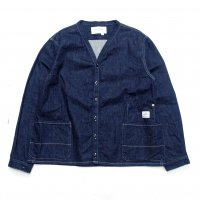 <img class='new_mark_img1' src='//img.shop-pro.jp/img/new/icons15.gif' style='border:none;display:inline;margin:0px;padding:0px;width:auto;' />ANACHRONORM DENIM SHIRTS CARDIGAN