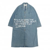 <img class='new_mark_img1' src='https://img.shop-pro.jp/img/new/icons50.gif' style='border:none;display:inline;margin:0px;padding:0px;width:auto;' />ANACHRONORM STENCIL DENIM ENGINEER COAT