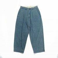 <img class='new_mark_img1' src='https://img.shop-pro.jp/img/new/icons50.gif' style='border:none;display:inline;margin:0px;padding:0px;width:auto;' />ANACHRONORM BLEACH DENIM TUCK WIDE PANTS
