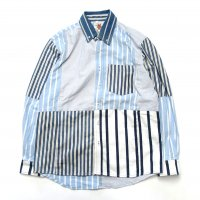 <img class='new_mark_img1' src='https://img.shop-pro.jp/img/new/icons50.gif' style='border:none;display:inline;margin:0px;padding:0px;width:auto;' />Nasngwam.SKELTER SHIRT (STRIPE)