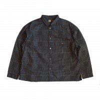 <img class='new_mark_img1' src='https://img.shop-pro.jp/img/new/icons50.gif' style='border:none;display:inline;margin:0px;padding:0px;width:auto;' />VOO GOOD PATTERN SHIRTS GRAY CHECK
