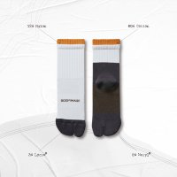 <img class='new_mark_img1' src='//img.shop-pro.jp/img/new/icons15.gif' style='border:none;display:inline;margin:0px;padding:0px;width:auto;' />GOOPi R-F DOUBLE RIBS TABI SOCKS YELLOW