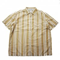 <img class='new_mark_img1' src='//img.shop-pro.jp/img/new/icons15.gif' style='border:none;display:inline;margin:0px;padding:0px;width:auto;' />NECESSARY or UNNECESSARY PLANE SHIRTS 'STRIPE' BEIGE
