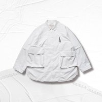 <img class='new_mark_img1' src='https://img.shop-pro.jp/img/new/icons50.gif' style='border:none;display:inline;margin:0px;padding:0px;width:auto;' />GOOPi 2-way Functional SHIRT - Pure white