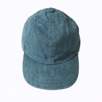 <img class='new_mark_img1' src='https://img.shop-pro.jp/img/new/icons50.gif' style='border:none;display:inline;margin:0px;padding:0px;width:auto;' />DECHO LEATHER BUCKLE CAP BLEACHING INDIGO