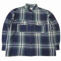 <img class='new_mark_img1' src='https://img.shop-pro.jp/img/new/icons50.gif' style='border:none;display:inline;margin:0px;padding:0px;width:auto;' />ANACHRONORM HVY FLANNEL CPO JACKET GREEN