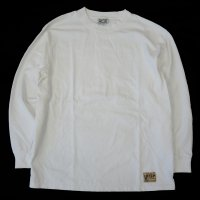 <img class='new_mark_img1' src='https://img.shop-pro.jp/img/new/icons15.gif' style='border:none;display:inline;margin:0px;padding:0px;width:auto;' />LIFT UP MADE IN JAPAN HW L/S TEE WHITE
