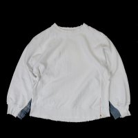 <img class='new_mark_img1' src='https://img.shop-pro.jp/img/new/icons50.gif' style='border:none;display:inline;margin:0px;padding:0px;width:auto;' />ANACHRONORM CRASHED SWEATSHIRT WHITE