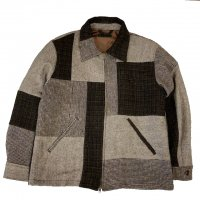 <img class='new_mark_img1' src='https://img.shop-pro.jp/img/new/icons50.gif' style='border:none;display:inline;margin:0px;padding:0px;width:auto;' />Nasngwam.ESCAPE JACKET TWEED  BROWN
