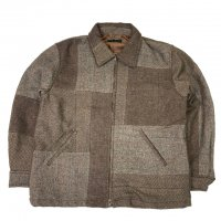 <img class='new_mark_img1' src='https://img.shop-pro.jp/img/new/icons15.gif' style='border:none;display:inline;margin:0px;padding:0px;width:auto;' />Nasngwam.ESCAPE JACKET TWEED BROWN