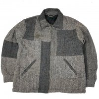 <img class='new_mark_img1' src='https://img.shop-pro.jp/img/new/icons15.gif' style='border:none;display:inline;margin:0px;padding:0px;width:auto;' />Nasngwam.ESCAPE JACKET TWEED GRAY
