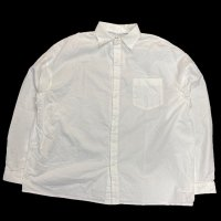 <img class='new_mark_img1' src='https://img.shop-pro.jp/img/new/icons50.gif' style='border:none;display:inline;margin:0px;padding:0px;width:auto;' />NECESSARY OR UNNECESSARY SLOPING SHIRTS WHITE