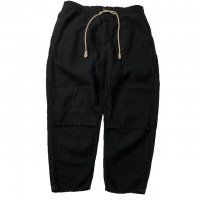 <img class='new_mark_img1' src='https://img.shop-pro.jp/img/new/icons15.gif' style='border:none;display:inline;margin:0px;padding:0px;width:auto;' />ANACHRONORM LINEN TAPERED EASY PANTS BLACK