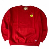 <img class='new_mark_img1' src='https://img.shop-pro.jp/img/new/icons15.gif' style='border:none;display:inline;margin:0px;padding:0px;width:auto;' />RELAX FIT MUFF SWEAT CREW RED