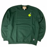 <img class='new_mark_img1' src='https://img.shop-pro.jp/img/new/icons15.gif' style='border:none;display:inline;margin:0px;padding:0px;width:auto;' />RELAX FIT MUFF SWEAT CREW GREEN